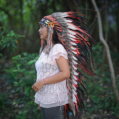 INDIAN HEADDRESS,Indian Costume, Native American Warbonnet Replica