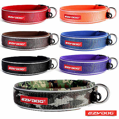 EZYDOG NEO CLASSIC DOG COLLAR High Quality, Strong and Reflective - FREE UK P&P