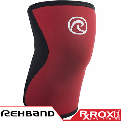 Rehband RX Line Knee Support | 5mm | Red Froning Series | CrossFit