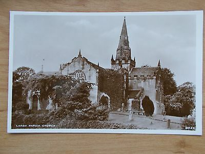 Vintage Postcard - The Parish Church - Largo - Fife   Rp
