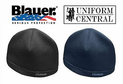 New Blauer Tactical Fleece Lined Skull Cap / Beenie - Black or Blue - 160