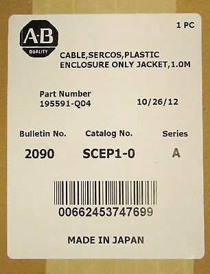 ALLEN BRADLEY 2090 SCEP1 0 Sercos 1.0M Fiber Optic Cable Jacket 195591 Q04