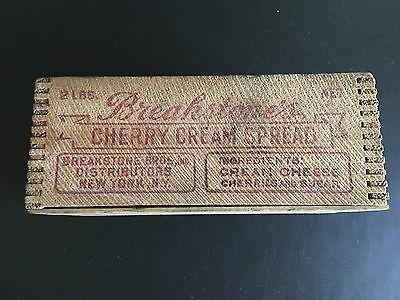 Breakstone's Cherry Cream 2lb Antique Box With Cow