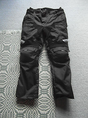 """Spada Milan Motorcycle Trousers Large 34"""" Inch Waist - New"""