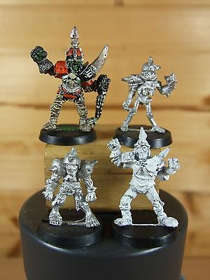 4 Classic Metal Bloodbowl Undead Players Part Painted (057)