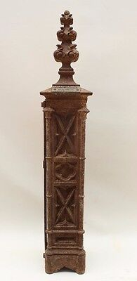 Gothic Cast Iron Newal Posts 1890s