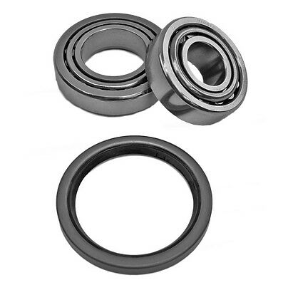 REM ISF Micro Finished GM Metric Front Bearings & Races for one hub with Seal