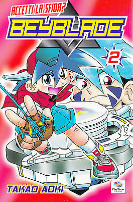 Beyblade n°  2 Ed. Play Press