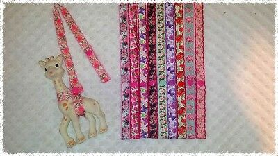 sophie the giraffe strap, holder,toy saver,harness