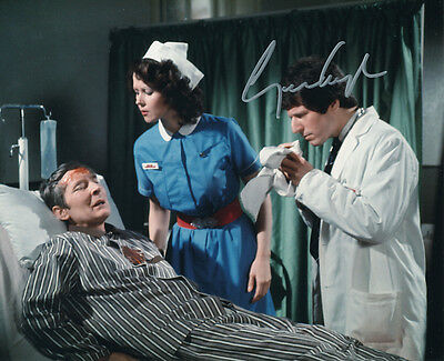 George Layton In Person Signed Photo - A1233 - Carry On Behind