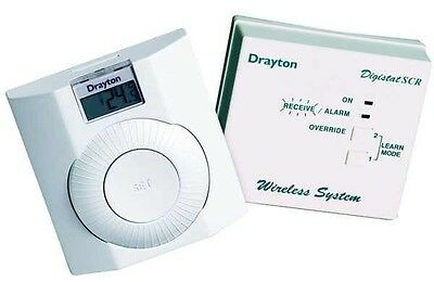 Drayton RF601 Digistat & RF room thermostat - vat receipt