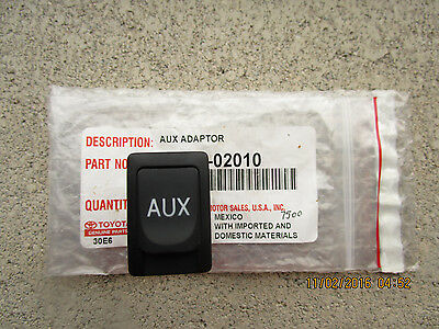 08 - 11 Toyota Highlander Limited Auxiliary Aux Adapter & Stereo Jack New 02010