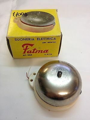 Vintage Electric Door Bell W/ original box Fatma