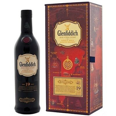 Glenfiddich 19yo Age Of Discovery Red Wine Cask Scotch Whisky 700ml