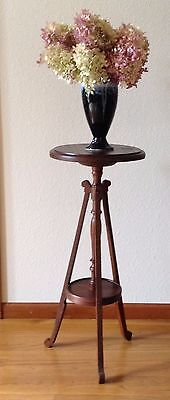Vintage Wood Plant Stand, Fern Stand, Display Stand