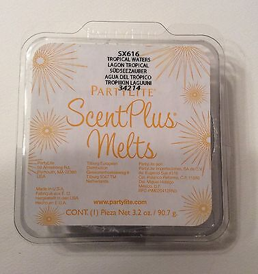 Partylite ScentPlus Wax Melts Tropical Waters SX616 Scented