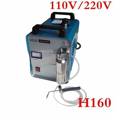 H160 75L 300W Portable Oxygen Hydrogen Flame Generator Acrylic Polishing Machine