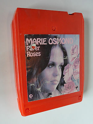 8 Track Cartridge {Marie Osmond} Paper Roses 1973 MGM Records