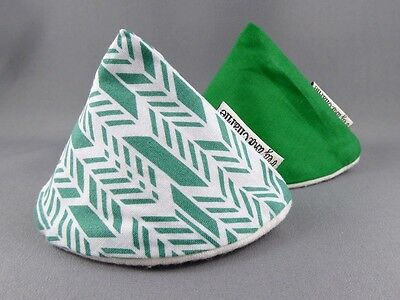 Wee Wee Tee Pee Set - Green Arrow Geometric