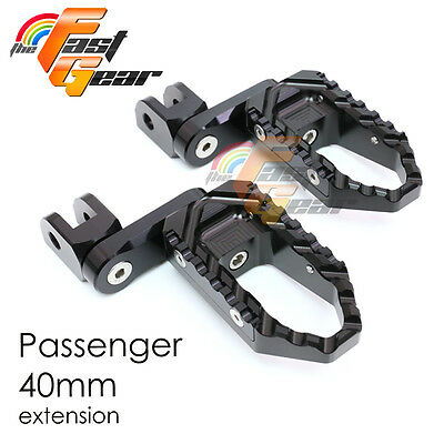 Multi Step Black 40mm Tour Rear Foot Pegs Fit Buell X1 Lightning All year