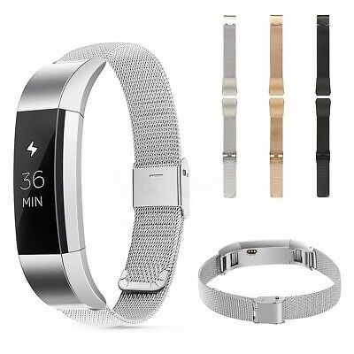 Replacement Stainless Steel Wristband Watch Strap Buckle For Fitbit Alta Tracker