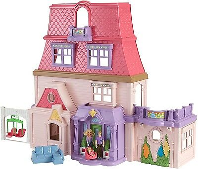 Loving Family Toy plastic Dollhouse, Fun Toy for girls, Kid Gift for girl Xmas