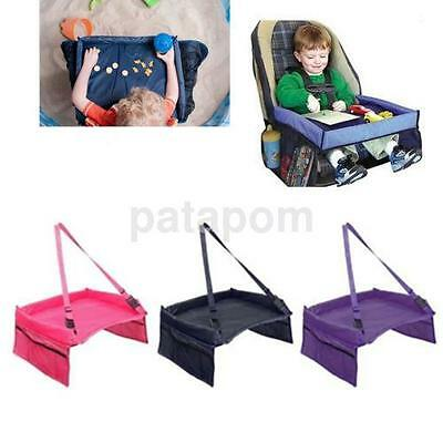 1 PCS Baby Car Safety Seat Lap Tray Portable Table For Kids Travel Playing UK