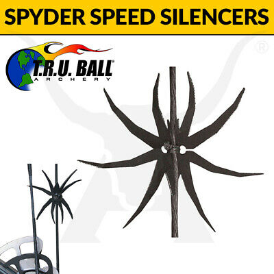 TRU Ball Spyder Speed Silencers - Increase Bow Speed and Reduce Noise - Hunting