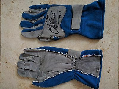 Gloves Race Used  / Gants - Ralf Schumacher - Williams F1 BMW  - signed