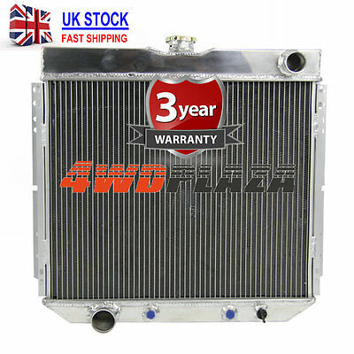3ROW ALUMINUM RADIATOR FOR Ford Fairlane 1969-1970 /Ford Mustang 1963-1969