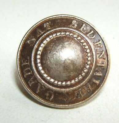 BOUTON GARDE NATIONALE SEDENTAIRE 1870 / 1871 - 17 mm