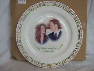 Royal Doulton William and Kate Engagement plate boxed