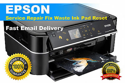 RESET WASTE INK Pad EPSON L655 with Keys unlimited use