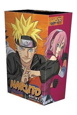 Naruto Box Set 3 Volumes 49-72 Children Graphical Book Collection Box Set NEW PB