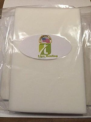Lipo Healing Lipofoam sheets 2 Pack smaller size Super Soft Made in the USA