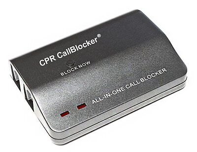 CPR Call Blocker V108 - 1000 Number Blocking - 200 Pre Programmed