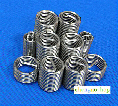 12PCS Select M8 to M16 Stainless Steel Helicoil Thread Repair Inserts #Q1243 ZX