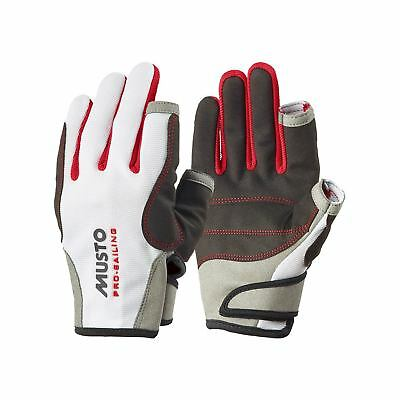 Musto Essential Sailing Gloves - White