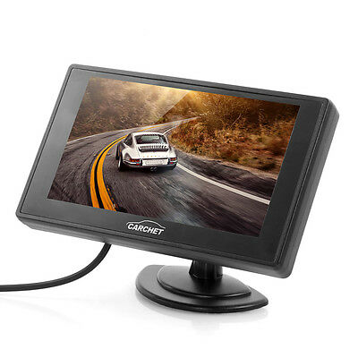 """4.3"""" TFT LCD Security Monitor for Car Front/Rearview Camera DVD CCTV"""