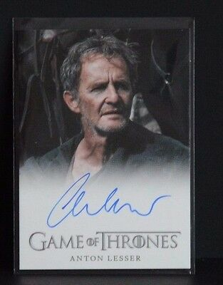 Game Of Thrones Season 4   Anton Lesser  Autograph  (Qyburn)