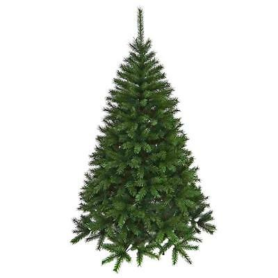 Realistic Christmas Workshop 6ft Artificial Green Christmas Fir Tree - 1064 tips
