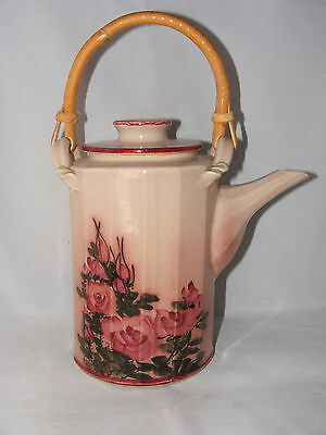 Fantastic Hand Made Artist Signed Tea or Coffee Pot Colorado Pottery