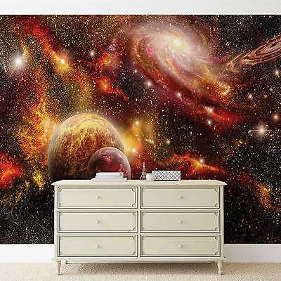 WALL MURAL Space Planets XXL PHOTO WALLPAPER (2734DC)