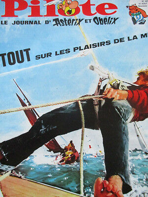 Pilote N)° 407 Couverture Yves Thos 10 août 1967
