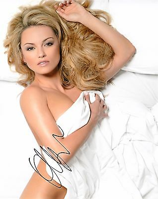 OLA JORDAN SIGNED 10x8 PHOTO - Strictly Come Dancing