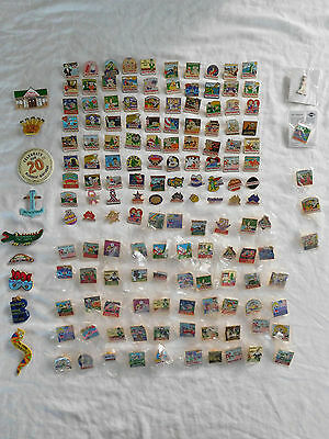 Lot of 140 + Outback Steakhouse Restaurant Employee Pin Pinback