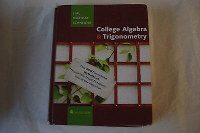 College algebra and trigonometry 4th edition 599 picclick college algebra and trigonometry 4th edition fandeluxe Choice Image