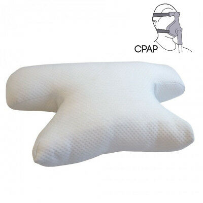 Putnams Original CPAP Pillow BIPAP Sleep Apnea Mask Users with Cover
