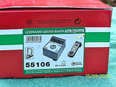 LGB ITEMS 55106 RESET55006p & handcontroller 55106 2 items for g scale