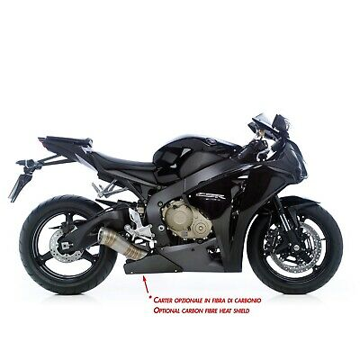 Honda Cbr1000Rr 8 11 Carbon Shield Panel (8068) For Leovince Exhaust *in Stock
